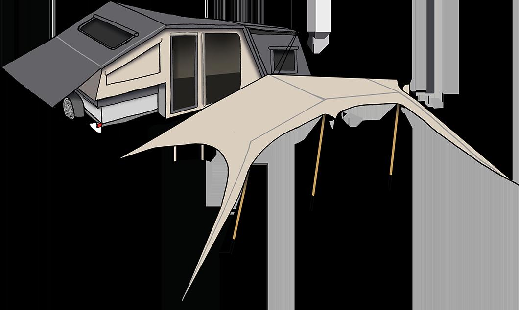 caravanes pliantes